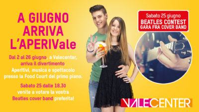Aperitivi Giugno - Beatles Cover Band - Sito 1920x1080