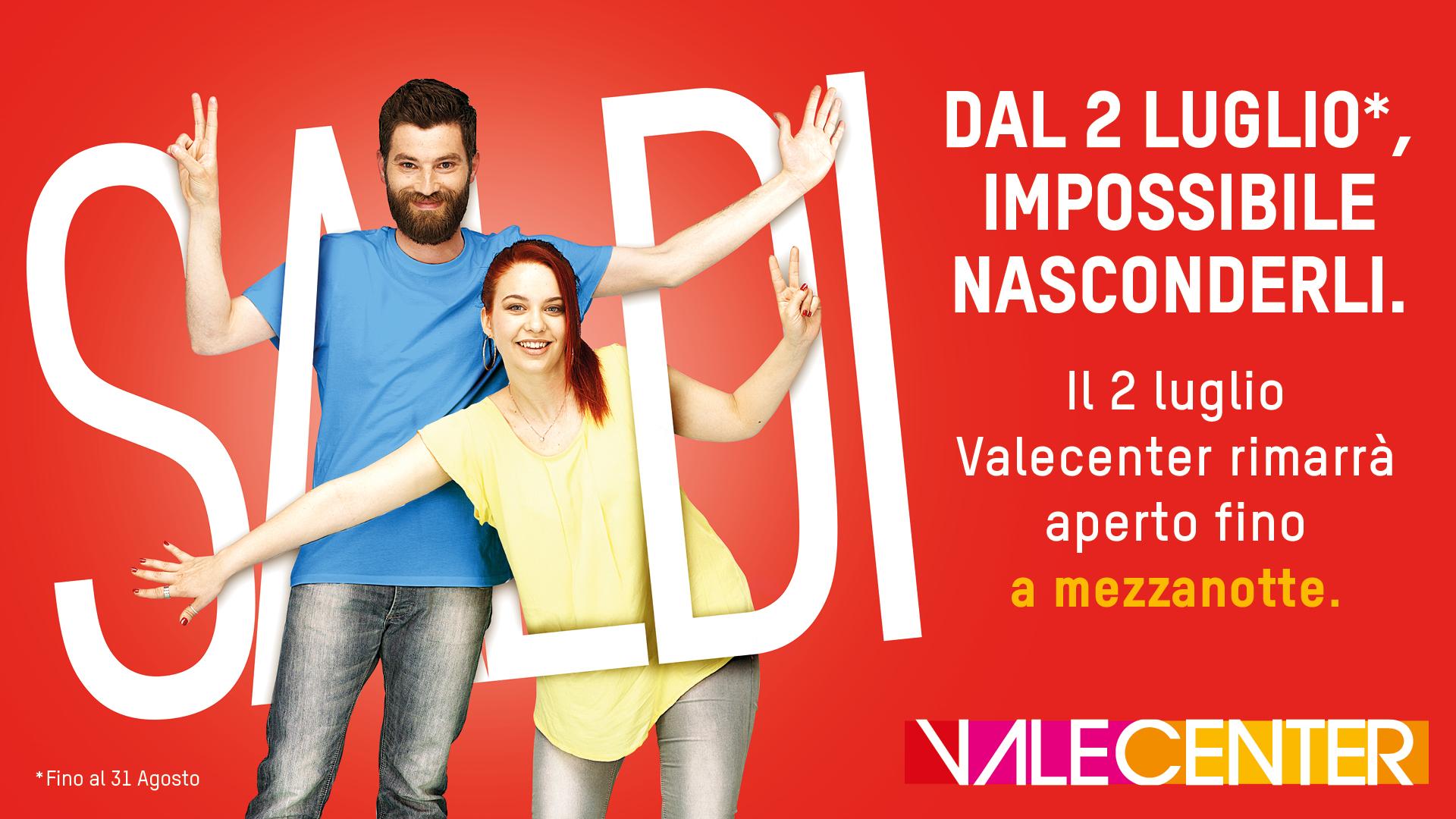 the best attitude ab863 105da SALDI ESTIVI - Valecenter - Centro Commerciale